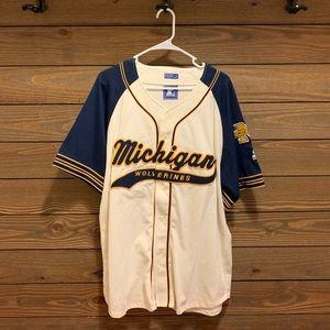Vintage Starter Michigan Baseball Jersey